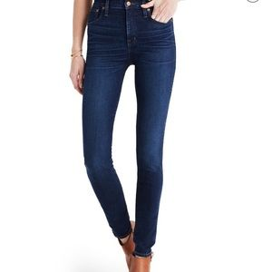 Madewell 10 inch High Rose Skinny Jeans 28